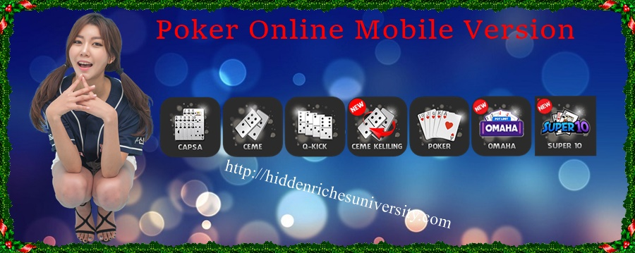 Poker Online Mobile Version